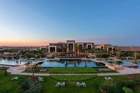 Main Building at Royal Palm hotel Marrakesh