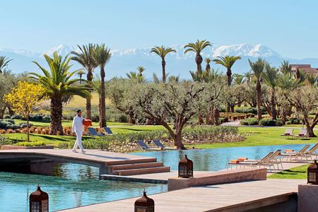 Main Swiming Pool at Royal Palm hotel Marrakesh