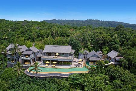 private cliff pool reserve villa at soneva kiri resort thailand