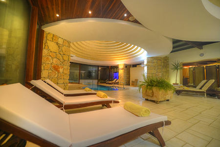 pool at hotel ta cenc malta and gozo