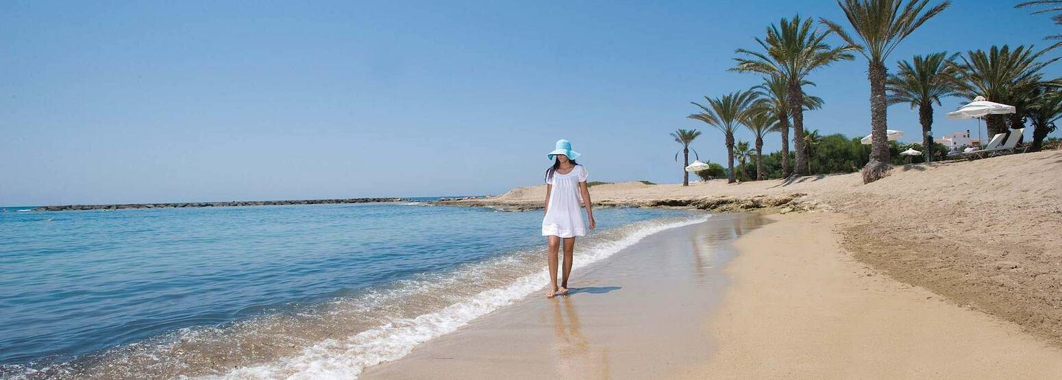 beach at asimina suites hotel cyprus