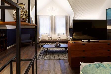 king suite at alda hotel iceland