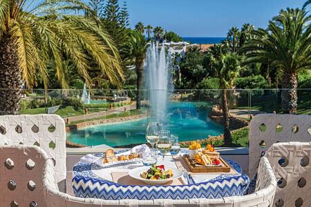 dining at vila vita parc hotel portugal