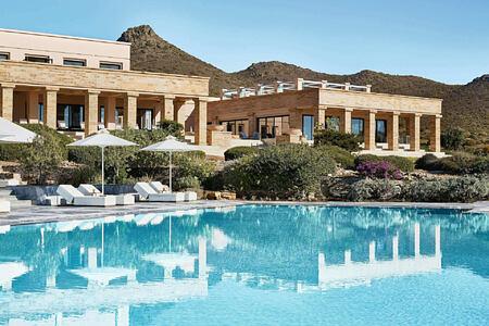 11 Luxury Resort with Unique architecture at Cape Sounio