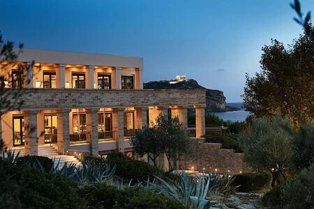 13 A unique spa retreat near Athens at Cape Sounio