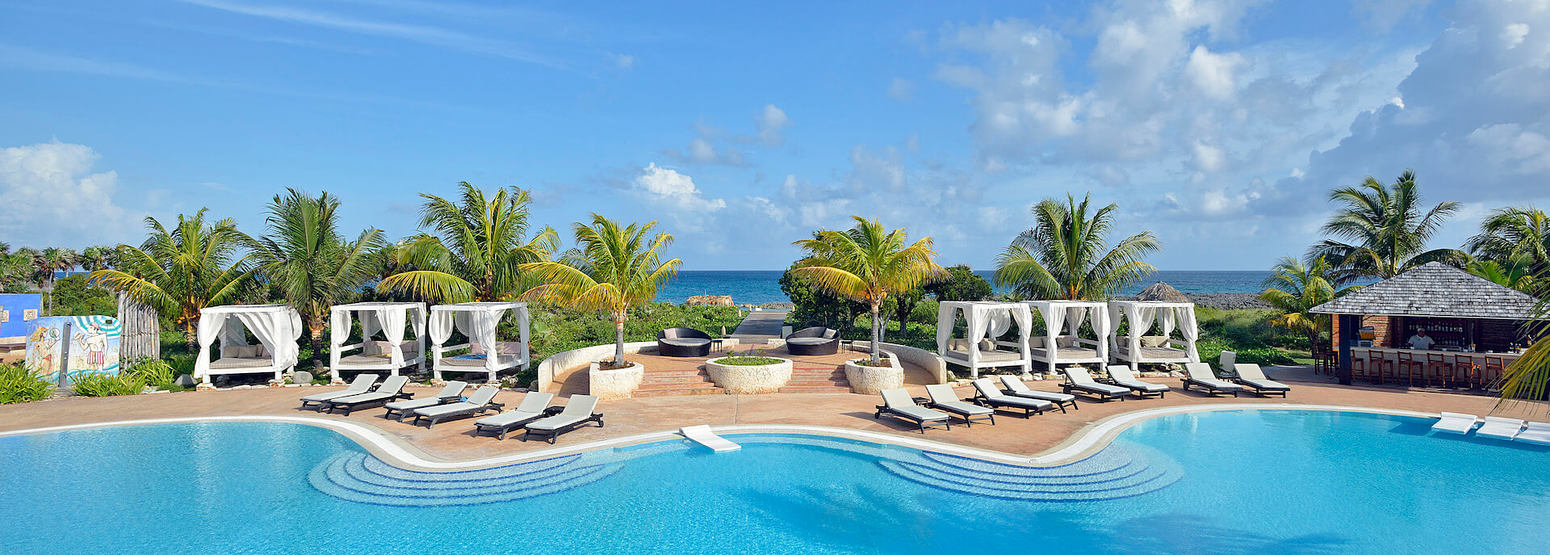 pool at melia buenavista hotel cuba