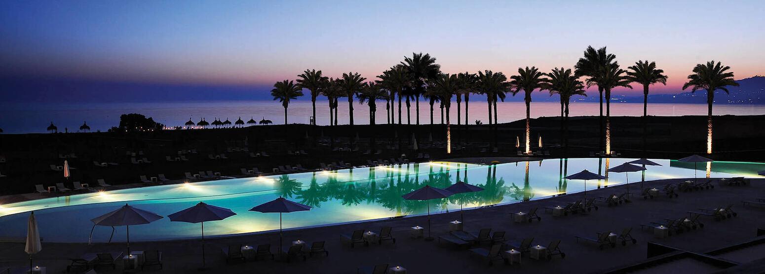 evening at Verdura Resort Italy