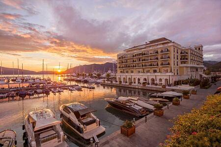 exterior of regent porto hotel montenegro
