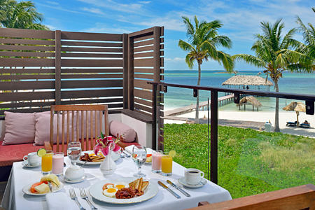 breakfast terrace at melia buenavista hotel cuba