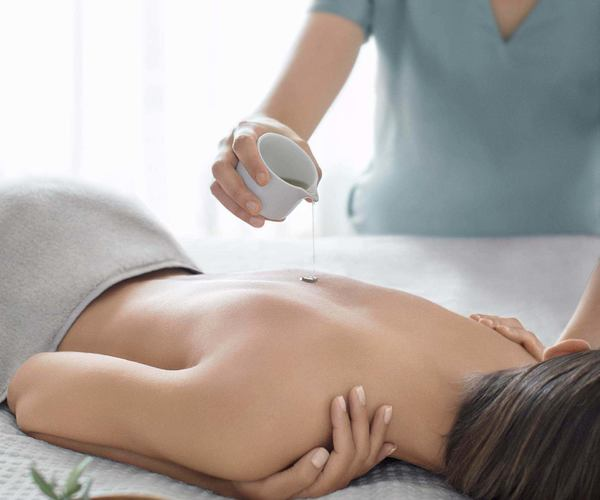 indoor spa treatment at Lefay Resort and Spa Italy