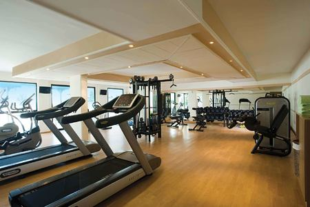 gym at asimina suites hotel cyprus