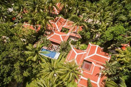 2 bedroom grand deluxe beachfront villa exterior at santiburi beach resort and spa