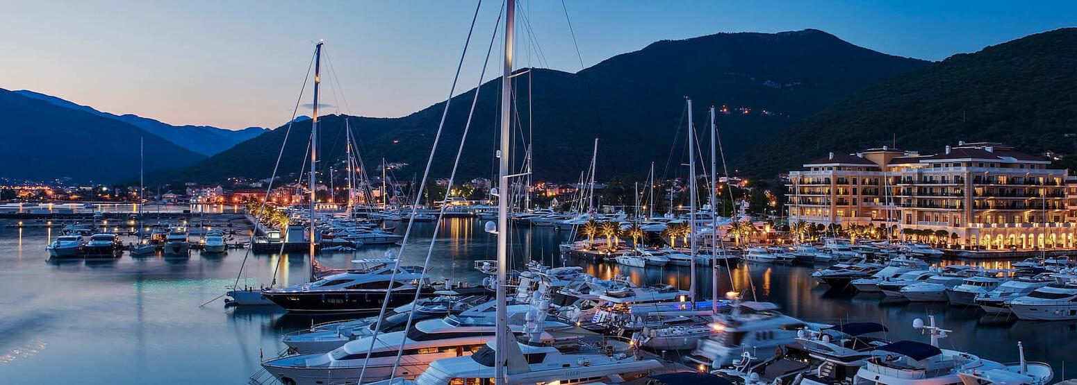 port at regent porto hotel montenegro
