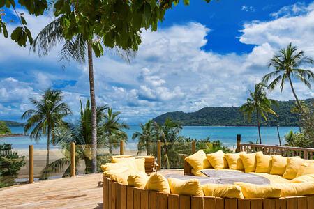 3 Bedroom Beach Pool Reserve Sun Deck at soneva kiri resort thailand