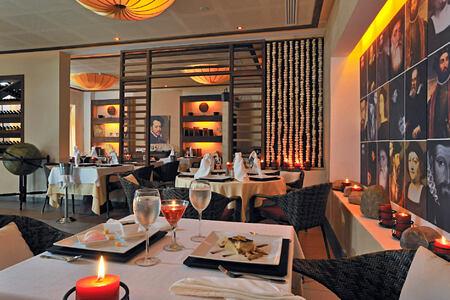 bistro los navegantes restaurant at melia buenavista hotel cuba