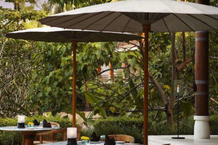 Kemiri restaurant at Uma Ubud resort bali