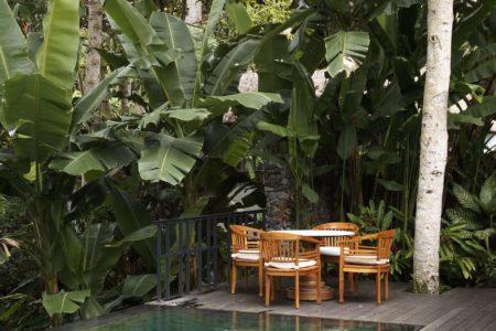 COMO Suite sundeck at Uma Ubud resort bali