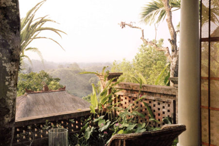 Terrace Room - Balcony View at Uma Ubud resort bali