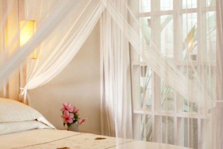 Uma Pool Suite Bed at Uma Ubud resort bali