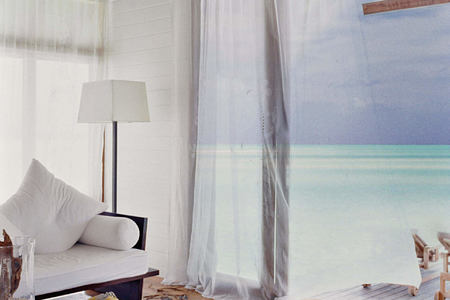 one bedroom villa lounge terrace at Cocoa Island by COMO Resort Maldives