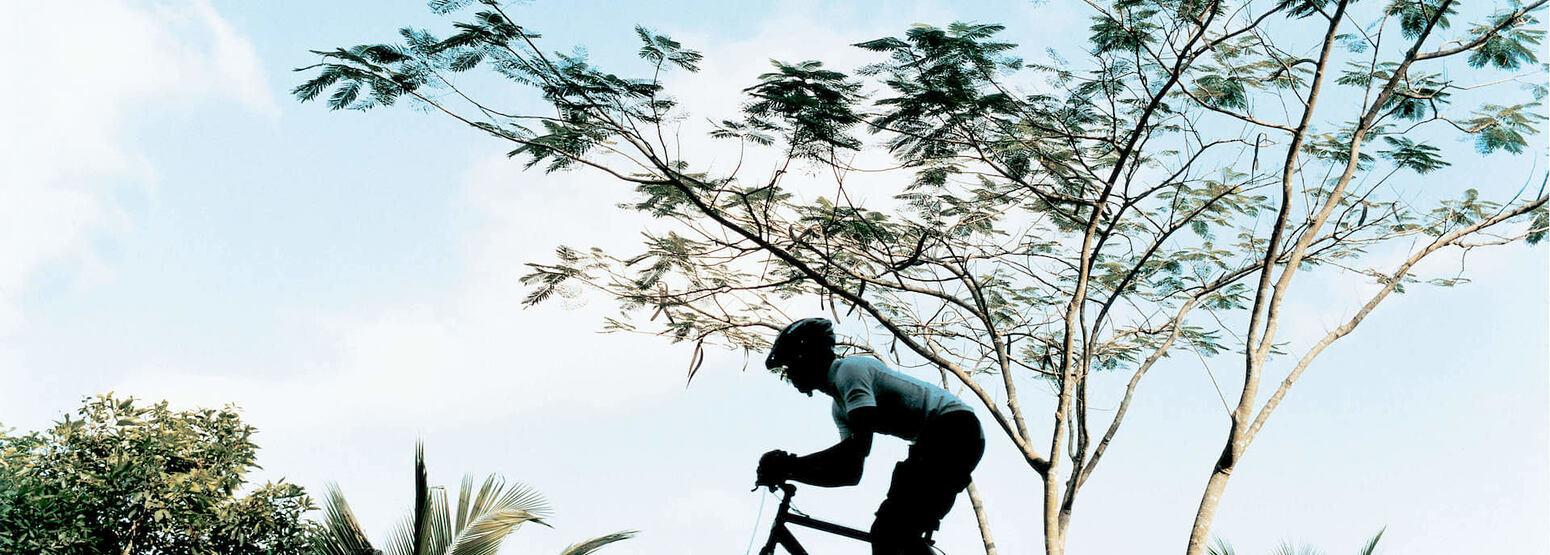 mountain biking at como shambhala estate bali
