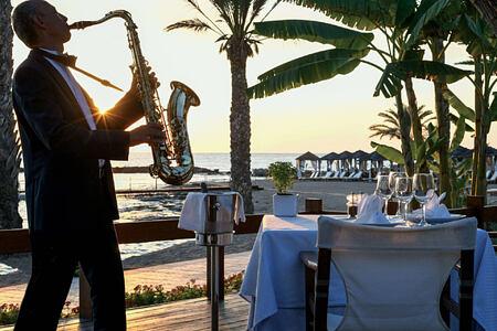 kymata restaurant at asimina suites hotel cyprus