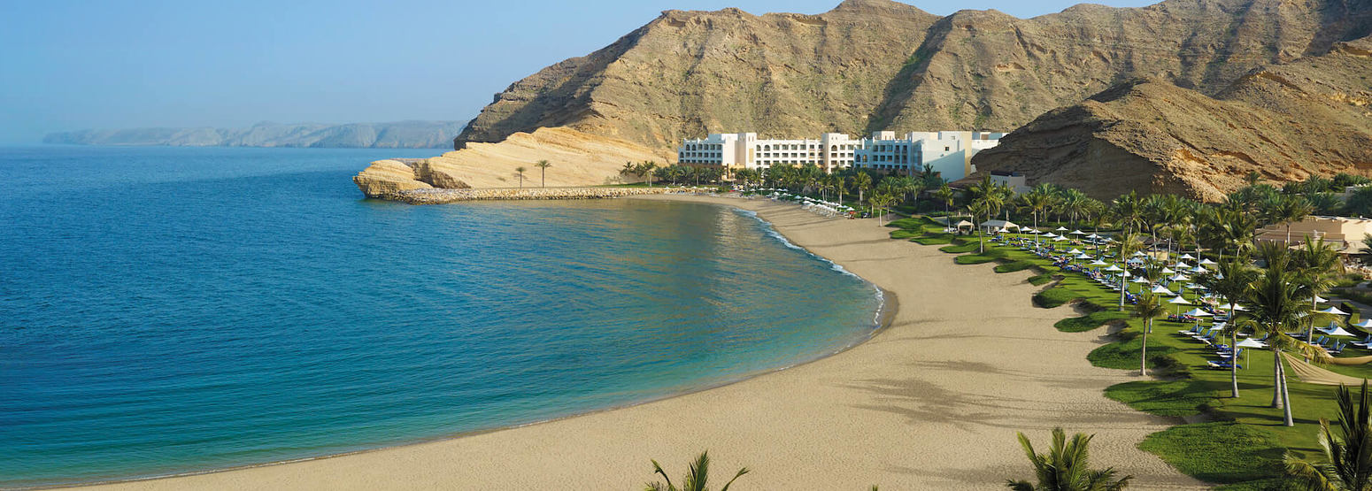 beach at shangri la barr al jissah resort oman