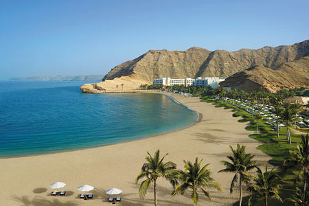 beach at shangri la barr al jissah resort oman