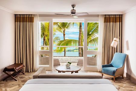 lagoon balcony room at le saint geran hotel mauritius