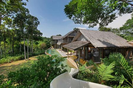 5 Bedroom Sunset Ocean View Pool Reserve Water Slide at soneva kiri resort thailand