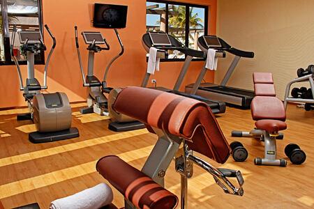 gym at melia buenavista hotel cuba