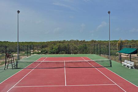tennis at melia buenavista hotel cuba