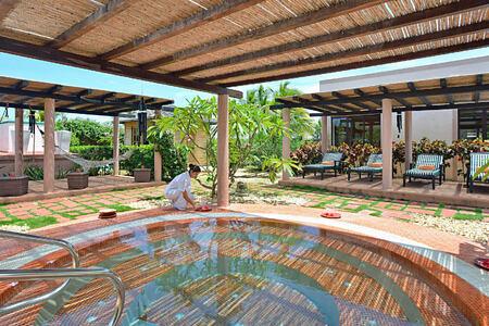 spa whirlpool at melia buenavista hotel cuba