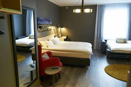 family room at alda hotel iceland