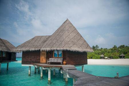 villa exterior at coco palm dhuni kolhu resort maldives