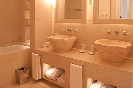 bathroom at Borgo Egnazia hotel