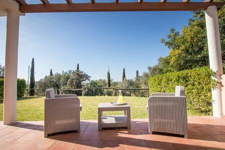 Longevity Suite - garden patio at longevity vilamoura and medical spa algarve