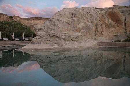 pool at amangiri resort usa