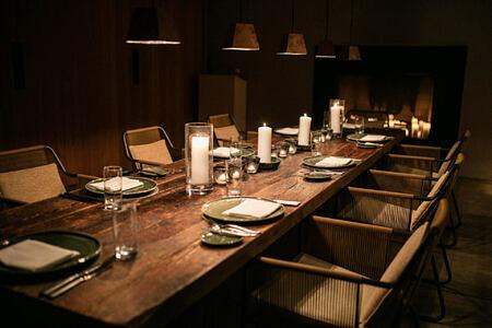 Private Dining at amangiri resort usa