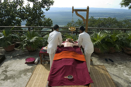 Ayuervedic rejuvenation at Ananda India