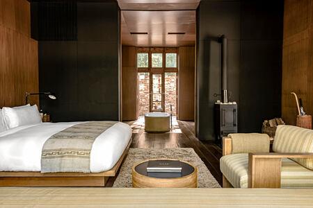 suite interior at amankora paro hotel bhutan