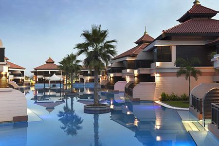 Anantara The Palm Dubai Resort - Lagoon Villas View