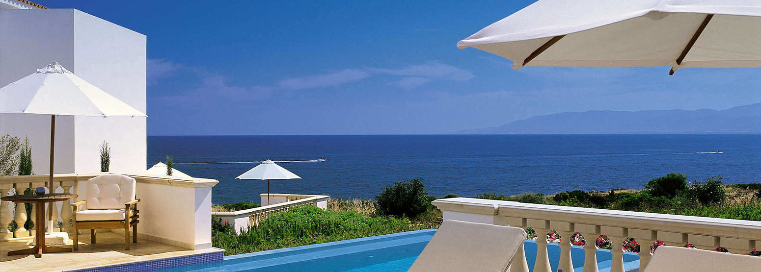 residence outdoor pool at anassa hotel cyrpus
