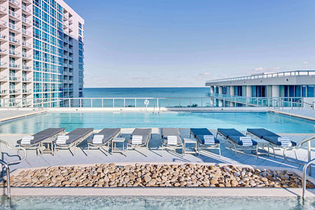 Atlantic Pool at carillion hotel usa