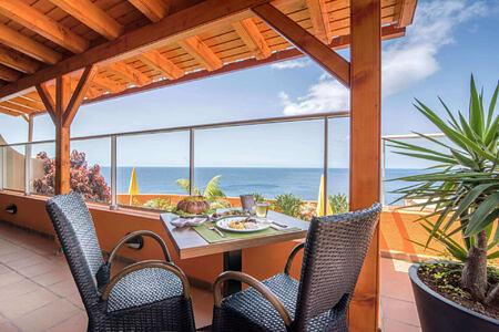 terrace of alpo atlantico hotel portugal