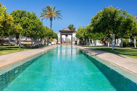 pool at atzaro hotel ibiza