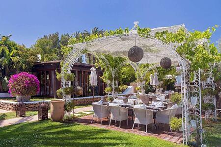 garden at atzaro hotel ibiza