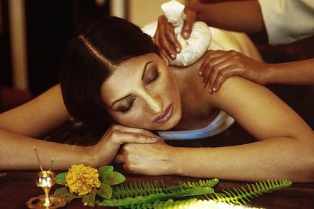 Ayurvedic treatment at ananda himalayas hotel india