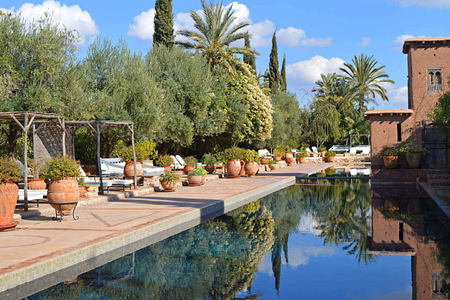 pool at beldi country club morocco