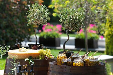 garden at four seasons bosphorus hotel turkey